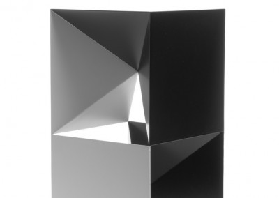 david bill, auseinandergezogener kubus, 2009