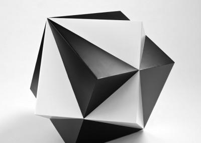 david bill, diagonalrhytmus zweier kubenstrukturen, 2010