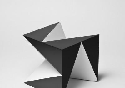 david bill, kubus mit rhytmischen ausschnitten, 2010
